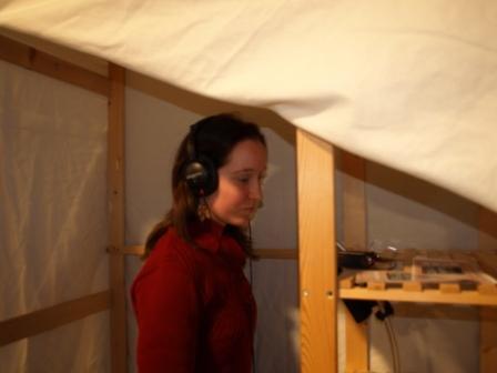 Maja Lucas i ForfatterstemmeBoXen