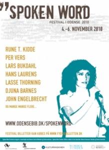Spoken Word Festival plakat